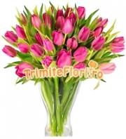 Buchet lalele roz
