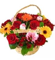 Cos flori mixte